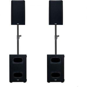 QSC K10.2 and KS112 Active Speaker Bundle at Gear 4 Music Image