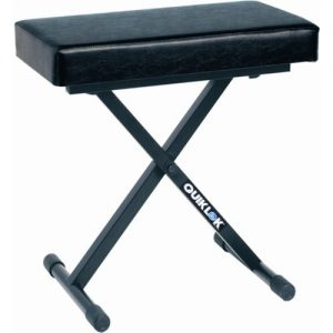 Quiklok BX718 Deluxe Adjustable Piano Bench at Gear 4 Music Image