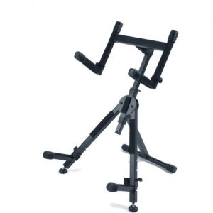 Quiklok Heavy Duty Adjustable Amp Stand with Dual Support Arms at Gear 4 Music Image