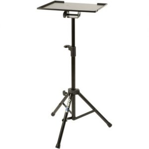 Quiklok LPH001 Large Laptop/Accessory Holder Tripod Stand at Gear 4 Music Image