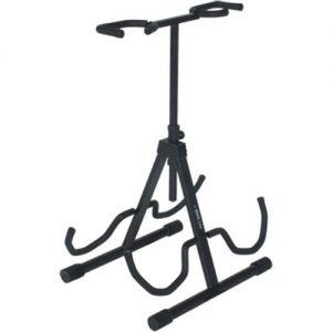 Quiklok QL-694 Double Guitar Stand at Gear 4 Music Image