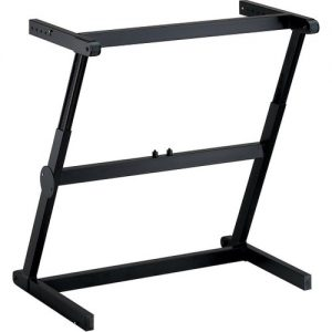 Quiklok Z-71 ALU Aluminium Single Z Keyboard Stand at Gear 4 Music Image