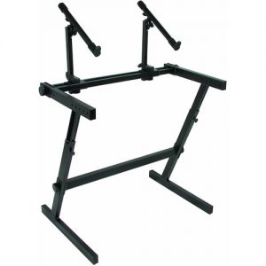 Quiklok Z-726 Fully Adjustable 2-Tier Z Stand at Gear 4 Music Image