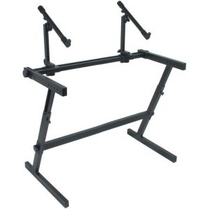 Quiklok Z-726L Wide Double Z Stand at Gear 4 Music Image