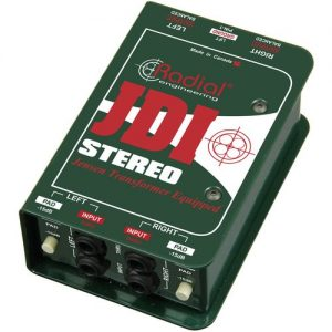 Radial JDI Stereo Passive Direct Box at Gear 4 Music Image