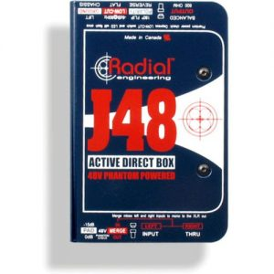 Radial J48 Phantom Powered Active DI Box at Gear 4 Music Image