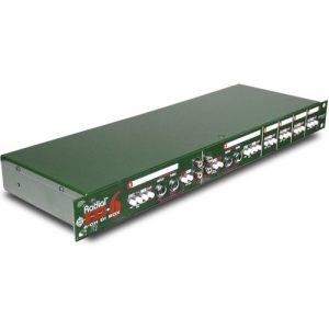 Radial JD6 Six-Channel Rackmount DI Unit at Gear 4 Music Image