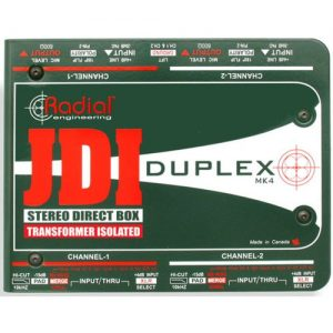 Radial JDI Duplex Stereo Direct Box at Gear 4 Music Image