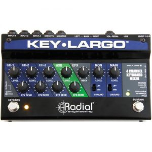 Radial Key-Largo Keyboard Mixer and Performance Pedal at Gear 4 Music Image