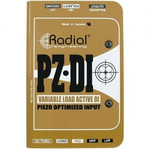Radial PZ-DI Instrument DI Box at Gear 4 Music Image