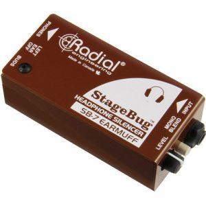 Radial StageBug SB-7 EarMuff Headphone Mute at Gear 4 Music Image