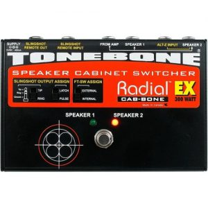 Radial Tonebone CabBone EX Speaker Cabinet Switcher at Gear 4 Music Image