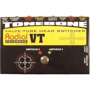 Radial Tonebone Headbone VT Valve Tube Head Switcher at Gear 4 Music Image