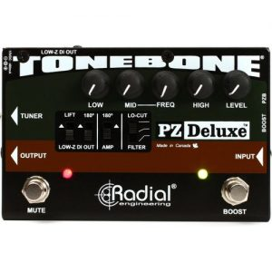 Radial Tonebone PZ-Deluxe Acoustic Preamp at Gear 4 Music Image