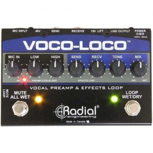 Radial Voco-Loco Effects Switcher for Vocals and Instruments at Gear 4 Music Image