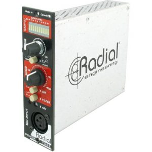 Radial Workhorse PowerTube Microphone Preamplifier at Gear 4 Music Image