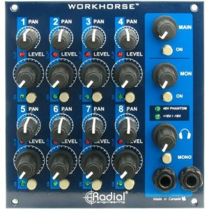 Radial Workhorse WM8 500 Series Mixer Section at Gear 4 Music Image