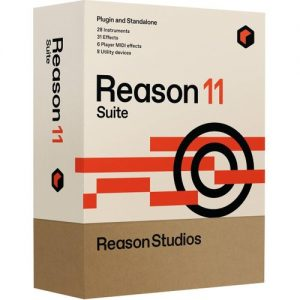 Reason 11 Suite (Boxed) at Gear 4 Music Image