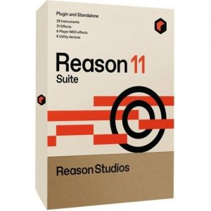 Reason 11 Suite Upgrade (Boxed) at Gear 4 Music Image