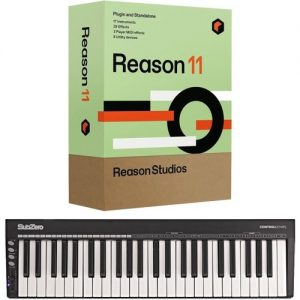 Reason 11 with SubZero CONTROLKEY49S at Gear 4 Music Image