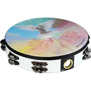 Remo 10 Double Row Pre-Tuned Tambourine Ruach Spirit at Gear 4 Music Image