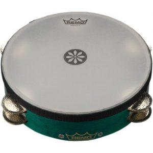 Remo 10 x 3.5 Valencia Lotus Tambourine at Gear 4 Music Image