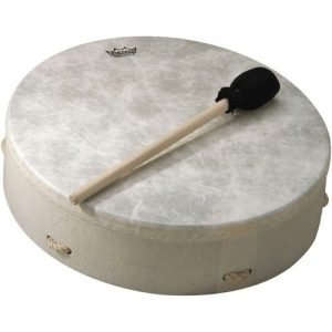 Remo 12 x 3.5 Standard Buffalo Drum White at Gear 4 Music Image