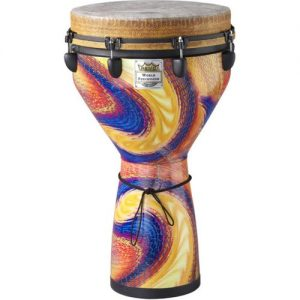 Remo 14 Djembe Serpentine Day at Gear 4 Music Image