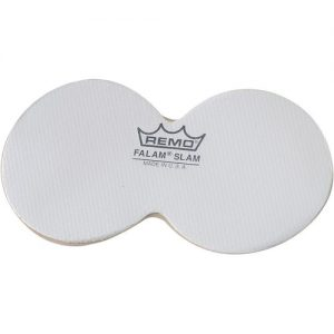 Remo 4 Double Falam Slam Pad for Bass Drum Head at Gear 4 Music Image