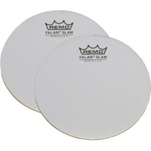 Remo 4 Falam Slam Pads for Bass Drum Head at Gear 4 Music Image