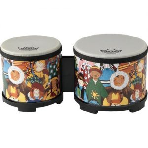 Remo 5 and 6 Rhythm Club Bongos at Gear 4 Music Image