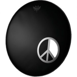 Remo 6 Peace Sign Dynamo-Ring Chrome at Gear 4 Music Image