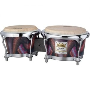 Remo 7 and 8.5 Salsa Bongo Set Skyndeep Salsa at Gear 4 Music Image