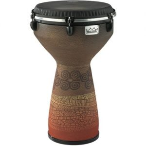 Remo Fliptop 13 Flareout Djembe Brown at Gear 4 Music Image