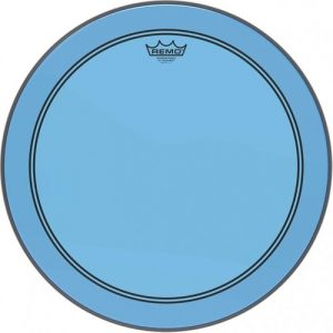 Remo Powerstroke 3 Colortone Blue 26 Bass Drum Head at Gear 4 Music Image