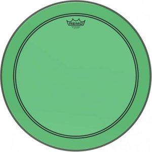 Remo Powerstroke 3 Colortone Green 26 Bass Drum Head at Gear 4 Music Image