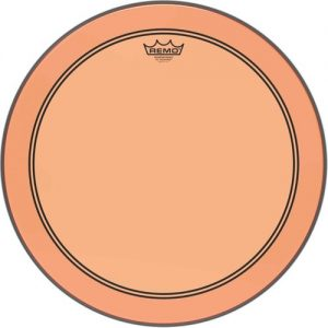 Remo Powerstroke 3 Colortone Orange 26 Bass Drum Head at Gear 4 Music Image