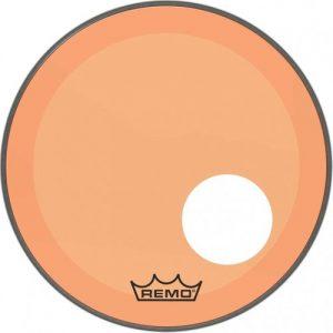 Remo Powerstroke 3 Colortone Orange 26 Ported Bass Drum Head at Gear 4 Music Image