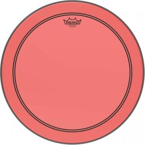 Remo Powerstroke 3 Colortone Red 26 Bass Drum Head at Gear 4 Music Image