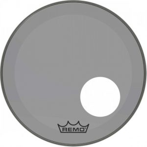 Remo Powerstroke 3 Colortone Smoke 26 Ported Bass Drum Head at Gear 4 Music Image