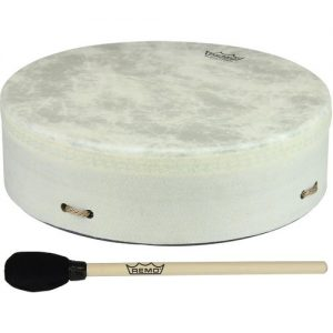 Remo Standard Buffalo Drum 14 x 3.5 White at Gear 4 Music Image
