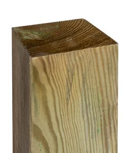 """Rowlinson 6ft Fence Posts 4"""" (90x90mm) Green"""