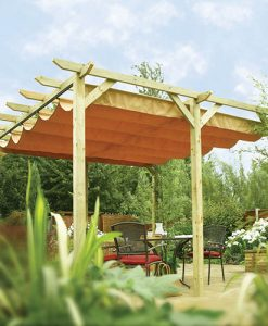 Rowlinson Verona Wooden Sun Canopy