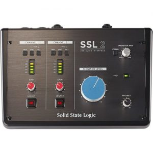 SSL 2+ 2-Channel USB Audio Interface at Gear 4 Music Image