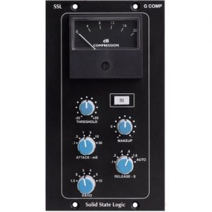 SSL 500 Series Stereo Bus Compressor Module at Gear 4 Music Image