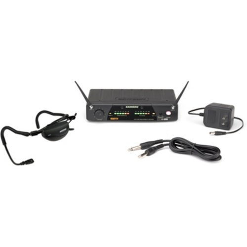 Samson AirLine 77 Aerobics Wireless System (AH1/QE/CR77) E2 - Nearly New at Gear 4 Music Image