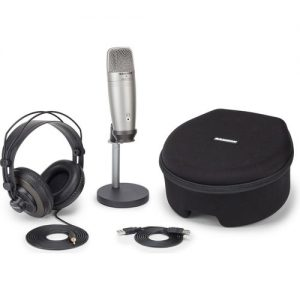 Samson CO1U USB Recording and Podcasting Pack at Gear 4 Music Image