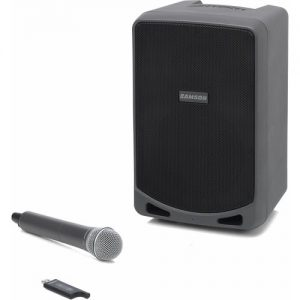 Samson Expedition XP106W Portable PA System with Wireless Mic at Gear 4 Music Image
