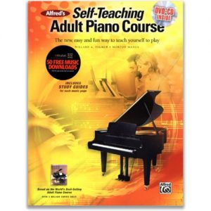 Self-Teaching Adult Piano Course Book & DVD at Gear 4 Music Image