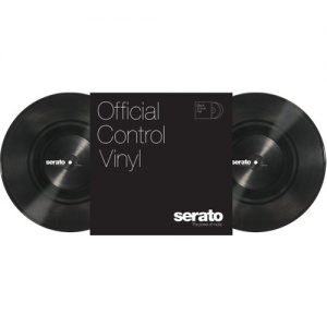 Serato 10 Standard Colours BLACK (Pair) at Gear 4 Music Image